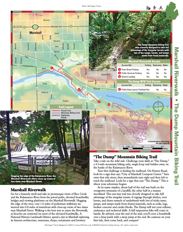 Michigan Trails Magazine Website