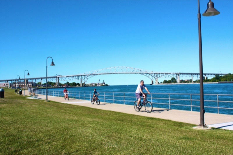 Port Huron Bridge to Bay Trail