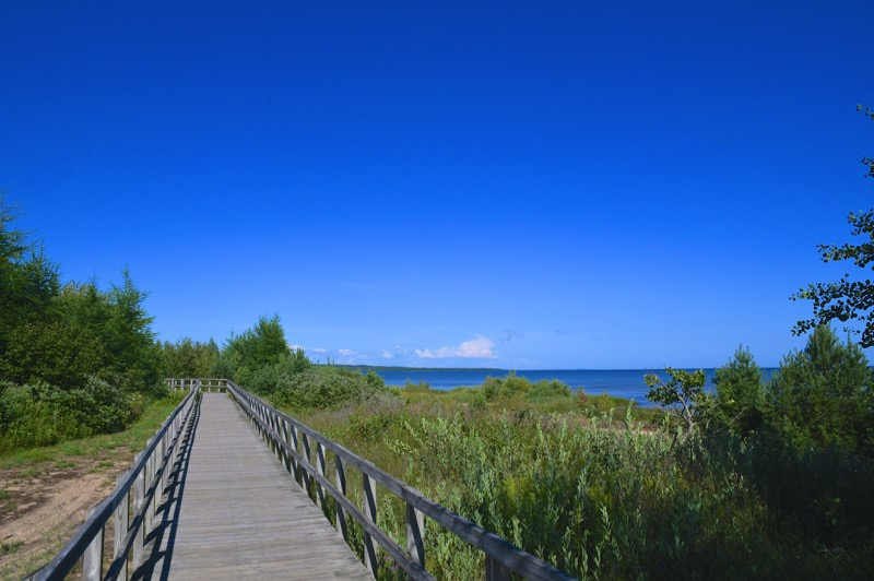 Manistique Boardwalk